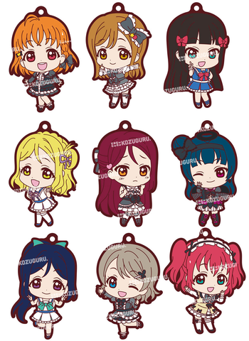 Love Live! Sunshine!! - Gothic Loli + Past Idol Ver. - Mascot Rubber Strap