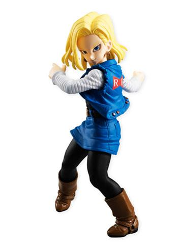 Dragon Ball Z - Android 18 - Character Styling Mini Figure