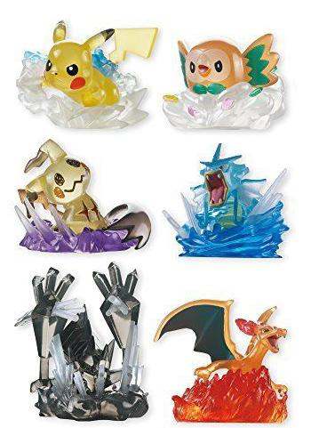 Pokemon Special Move - Character Candy Toy **Set of 6**