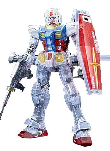 MG Gundam Base Limited Clear Color Gundam RX-78-2 Gundam Plastic Model Kit