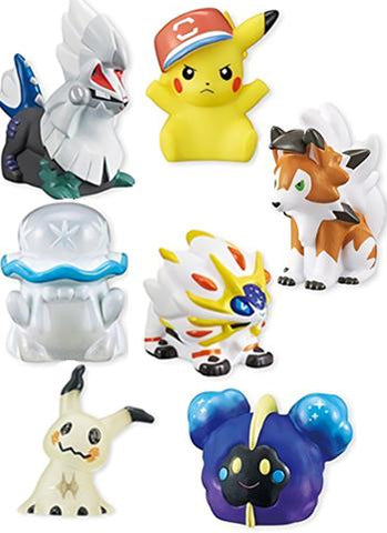 Pocket Monsters Sun & Moon Kids Solgaleo Ver. - Candy Toy **Display Box 12pcs**