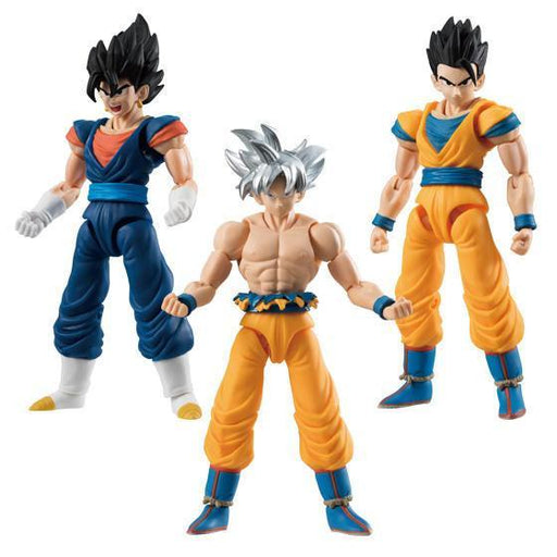 Dragon Ball Super Goku Gohan Vegetto - Candy Toy Shokugan Shodo Vol.6 *Set 3PCS*