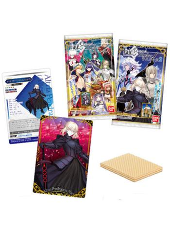 Fate Grand Order Full Cast Character Wafer Card *Display Case 20 PCS* FGO