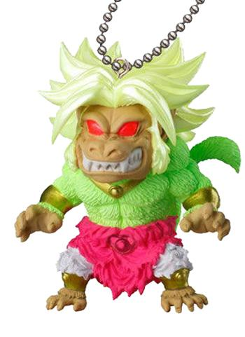 Dragon Ball Super UDM Special 04 - Great Ape Broly Capsule Mascot Swing Key Chain Jump Ver.