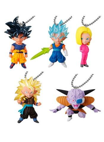 Dragon Ball UDM Best 31 Capsule Mascot Swing Key Chain