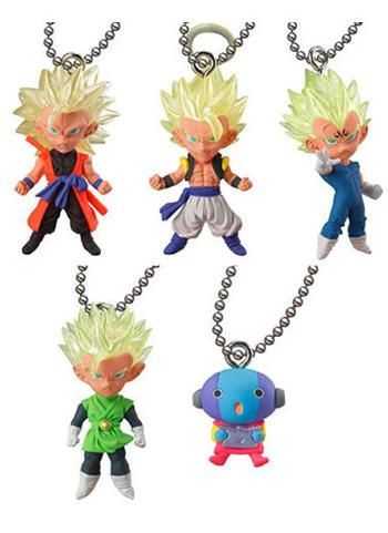 Dragon Ball UDM Best 26 Capsule Mascot Swing Key Chain