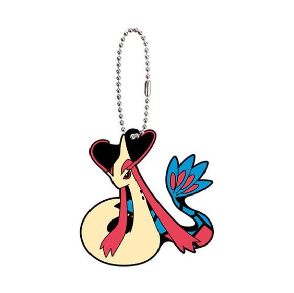 Pokemon The Movie Milotic Capsule Rubber Mascot Key Chain