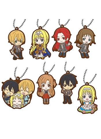 Sword Art Online SAO Alicization Capsule Rubber Key Chain Mascot Vol.2
