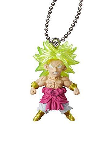 Dragon Ball Broly UDM THE BEST 24 Capsule Mascot Swing Key Chain