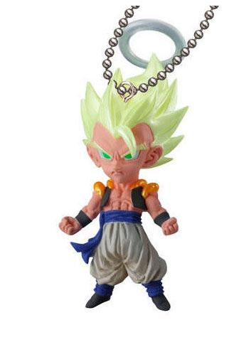 Dragon Ball Gogeta Super UDM VJump Capsule Mascot Swing Key Chain Vol.5