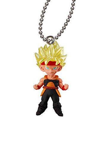 Dragon Ball Super Saiyan Bardock Xeno UDM THE BEST 24 Capsule Mascot Swing Key Chain