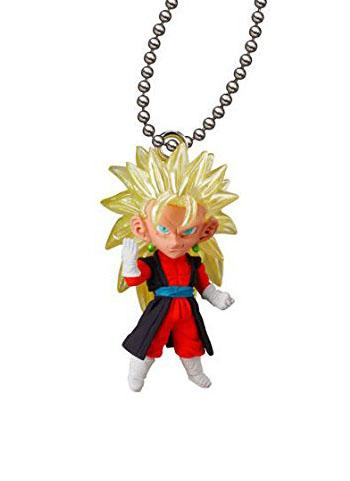 Dragon Ball Super Saiyan Vegeto Xeno UDM THE BEST 24 Capsule Mascot Swing Key Chain