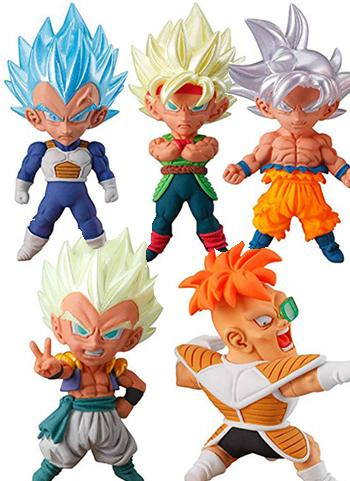Dragon Ball Super UDM Burst 34 Capsule Mascot Swing Key Chain