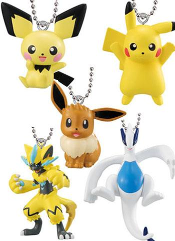 Pokemon Pocket Monster - Character Capsule Key Chain Swing Mascot