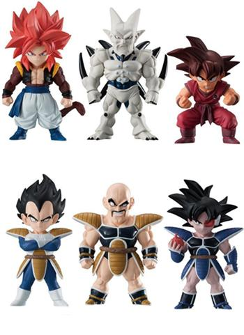 Dragon Ball Z Super Adverge Candy Toy Figure Vol.8 *Set of 10*
