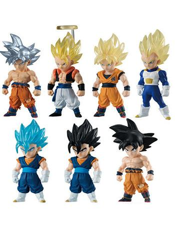Dragon Ball Adverge SP Legend of Goku & Vegeta Candy Toy Figure