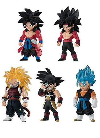 Super Dragon Ball Heroes Adverge Character Candy Toy Figure