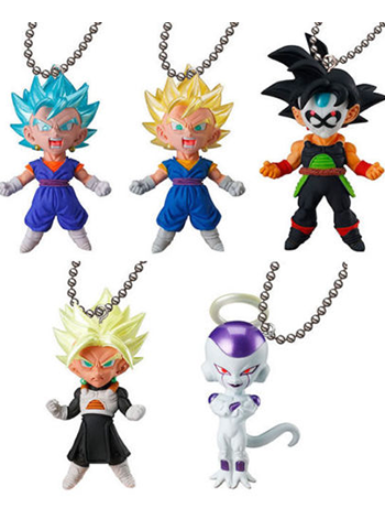 Dragon Ball UDM V-Jump 06 Capsule Mascot Swing Key Chain Vol.6