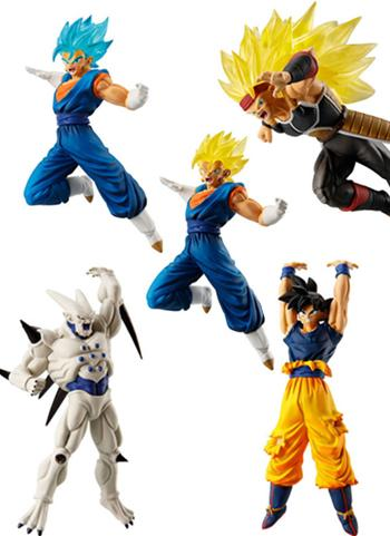 Dragon Ball VS 08 Character Capsule Figure Toy Vol.8 *SET 5PCS*