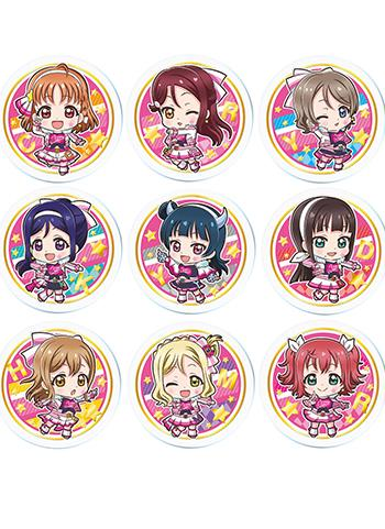 Love Live! Sunshine!! Miracle Wave Ver. Character Acrylic Badge Capsule Toy