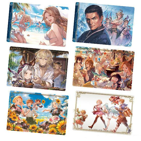 Granblue Fantasy Character Wafer Card *Display Case 20 PCS* Vol3
