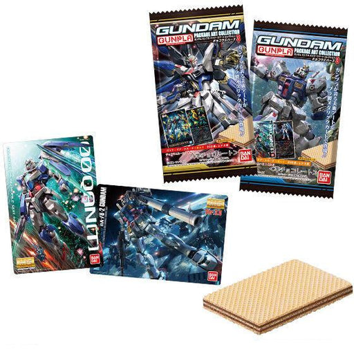 Gundam Gunpla Packaging Art Collectible Card with Candy Wafer Vol.3 *Display Case 20 PCS*
