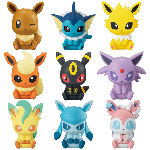 Pokemon - Character Mini Figure Rubber Paper Clip Vol.2