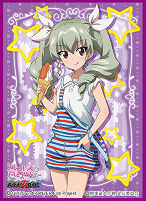 Girls und Panzer - Anchovy - Mat Sleeves No.MT376