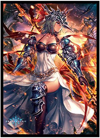 Shadowverse - Mars Silent Flame General - Character Mat Sleeves No.MT434