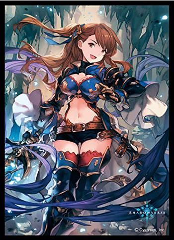 Shadowverse Beatrix Undying Blue Character Mat Sleeves No.MT510