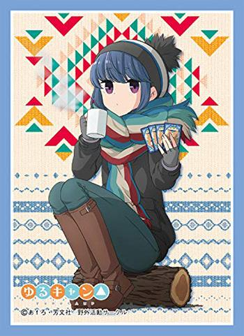 Yuru Camp Rin Shima - Character Mat Sleeves MT541
