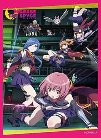 Release the Spyce - Character Mat Sleeves MT575