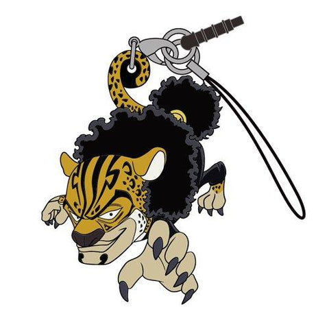 One Piece - Lucci - Cospa Pinch Tsumamare Phone Strap