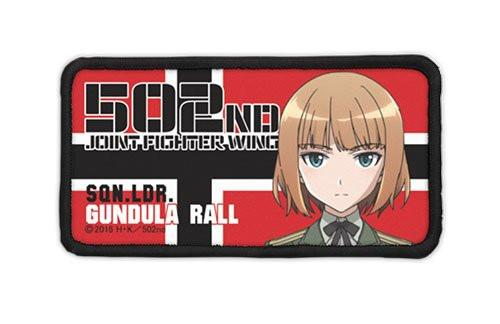 Strike Witches Brave - Gundula Rall - Cospa Removable Velcro Patch Wappen