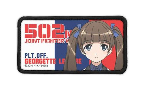 Strike Witches Brave - Georgette Lemare - Cospa Removable Velcro Patch Wappen