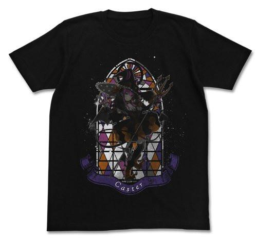 Fate/Grand Order - Caster Elizabeth Bathory - Character Cotton Cospa T-shirt Black FGO