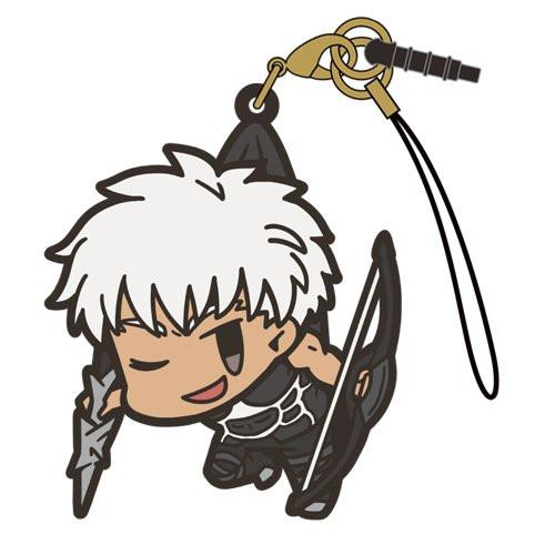 Fate Grand Order - Archer/Emiya - Cospa Pinch Tsumamare Phone Strap FGO