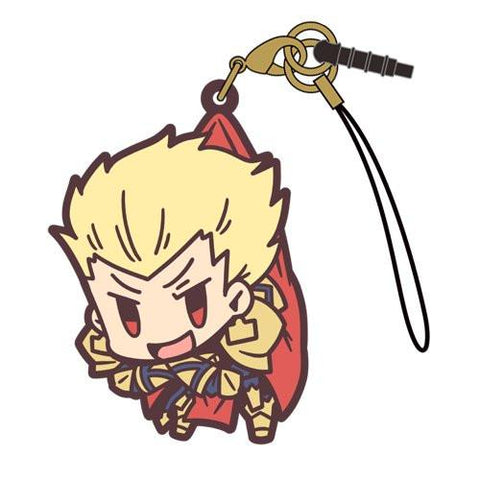 Fate Grand Order - Archer/Gilgamesh - Cospa Pinch Tsumamare Phone Strap