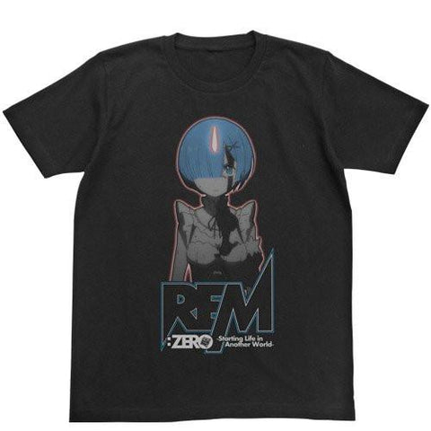 Re:Zero - Rem - Glow in the Dark T-shirt Black Size L / XL
