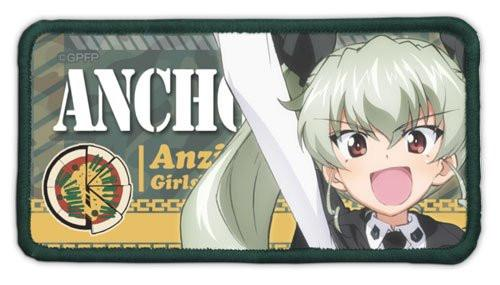 Girls und Panzer - Chiyomi Anzai Anchovy - Cospa Removable Velcro Patch Wappen