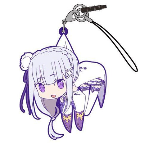 Re:Zero Starting Life - Emilia EMT - Cospa Pinch Tsumamare Phone Strap