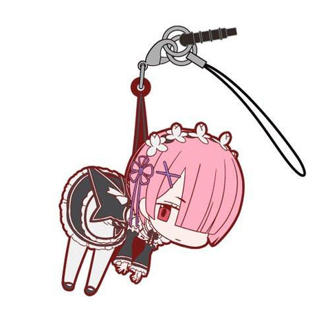Re:Zero Starting Life - RAM - Cospa Pinch Tsumamare Phone Strap