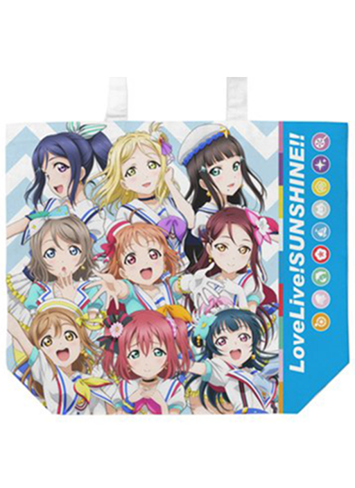"Love Live! Sunshine!! COSPA Jumping Heart ""Aozora"" Ver. Color Tote Bag"