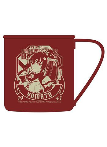 Kantai Collection KanColle Yamato - Metal Tin Travel Mug Cup Cospa