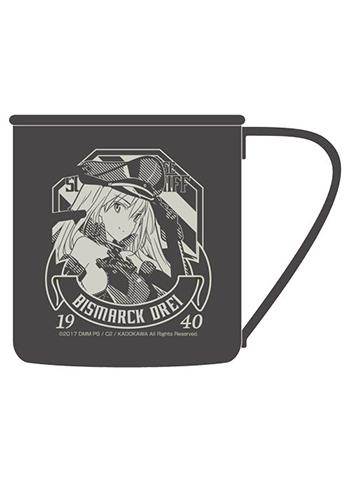 Kantai Collection KanColle Bismarck Drei - Metal Tin Travel Mug Cup Cospa