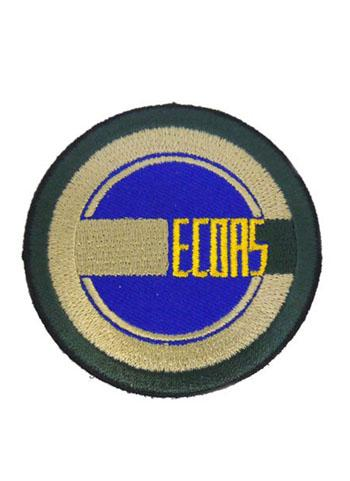 Mobile Suit Gundam UC Unicorn Ecoas Cospa Removable Velcro Patch Wappen
