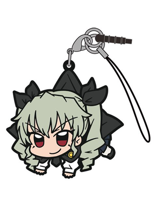Girls und Panzer - Anchovy - Cospa Pinch Tsumamare Phone Strap School Uniform Ver.