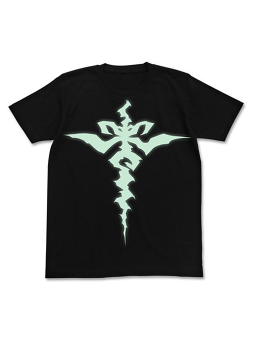 Fate/Apocrypha - Saber of Black Siegfried Pattern Cospa T-shirt Black Glow in Dark
