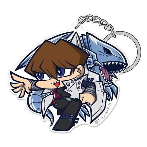 Yu-Gi-Oh! Seto Kaiba & Blue Eyes White Dragon Tsumamare Cospa Pinch Acrylic Key Chain