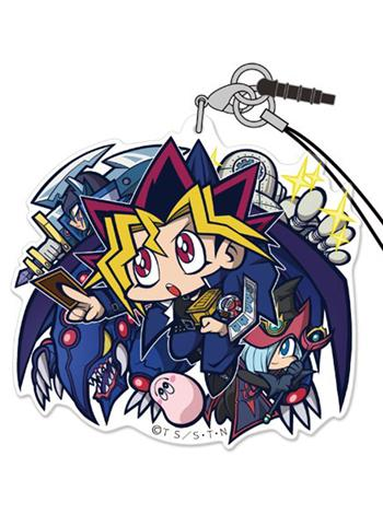 Yu-Gi-Oh! - Duel Monsters Yugi Muto - Tsumamare Cospa Pinch Acrylic Strap Fighting Ver.